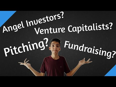 [Hindi]What is Pitching, Fundraising, Angel Investor and Venture Capitalist?