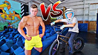 FLIPS VS 9 YEAR OLD PRO BMX RIDER!