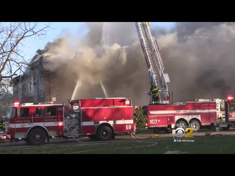 One Killed, Dozens Displaced In Bensenville Apartment Fire