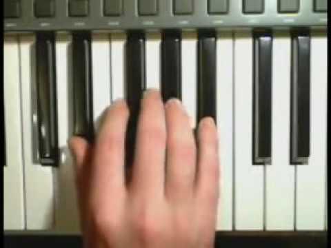 Accords majeurs et mineurs au piano en moins de 2 minutes