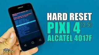 Hard Reset no Alcatel Pixi 4 (4017F) #UTICell
