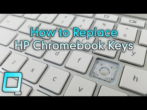 How to Replace HP Chromebook Keys