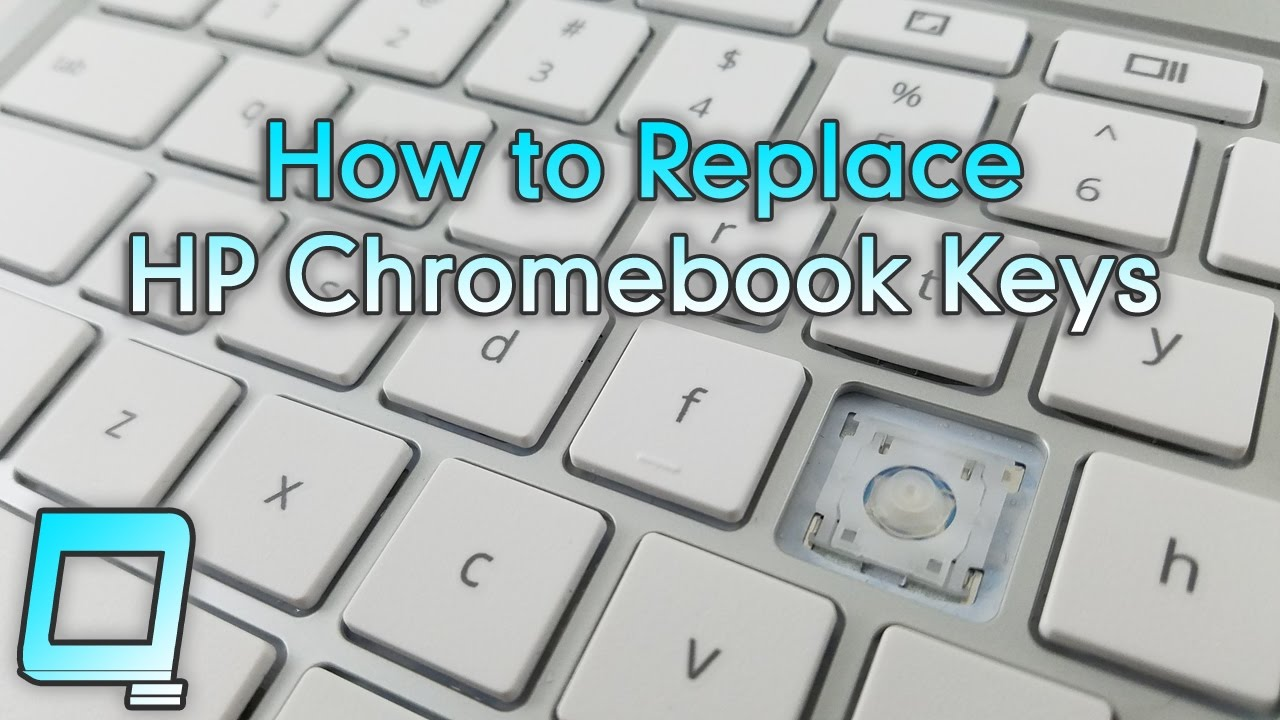 10de43f2fc9 How to Replace HP Chromebook Keys - YouTube