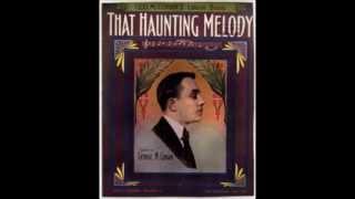 Al Jolson - That Haunting Melody (1911)