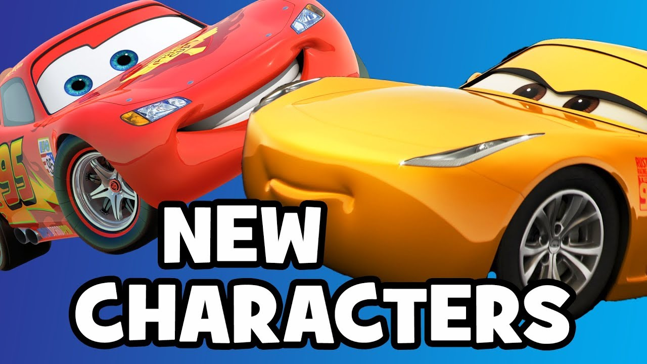 Cars 3 New Characters Cast Breakdown Youtube