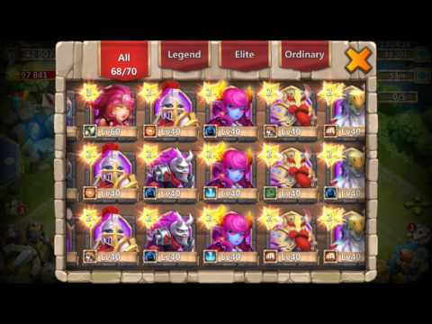 Rolling 46000 Gems For Talents 5/5 Revitalize Flappy Fly Castle Clash