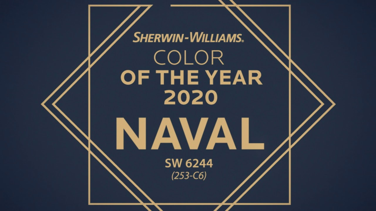 Sherwin Williams 2020 Color Of The Year Naval
