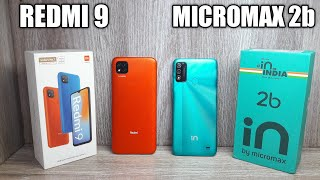 Micromax in 2b vs Redmi 9 - Which Should You Buy ?