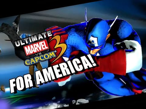FOR AMERICA! - Ultimate Marvel Vs. Capcom 3 w/Maxmilian
