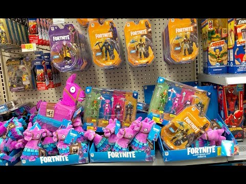 Fortnite Toy Hunt Challenge -  We Went Toy Hunting Everyday - Did We Find All The Fortnite Toys?