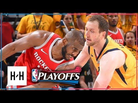 Houston Rockets vs Utah Jazz - Game 4 - Highlights | 2018 NBA Playoffs