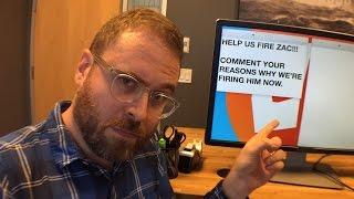 Help Us Fire Zac Oyama LIVE!