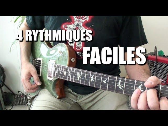 4 Rythmiques FACILES folk et funk - POWER CORDE