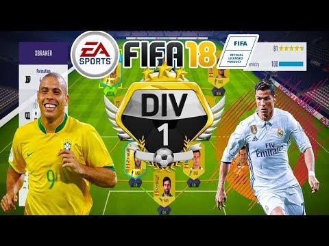 Il Fenomeno Ronaldo si Cristiano Ronaldo In Aceeasi Echipa - FIFA 18 Ultimate Team - Primul Meci