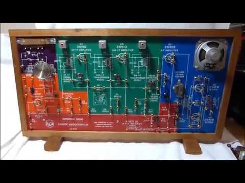 "1960? RCA WE-93A transistor radio ""Dynamic demonstrator"" (USA)"