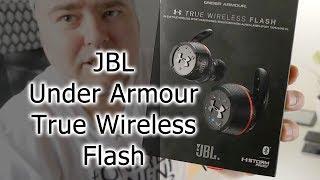 Розпакування і перший погляд на Under Armour True Wireless Flash – Engineered by JBL