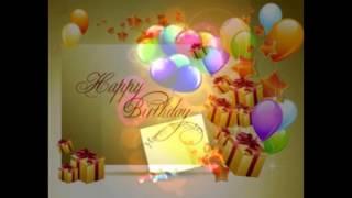 Joyeux anniversaire de tout mon coeur / Happy Birthday