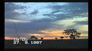 Australia Sunset At Walgett Northern New South Wales 2 Time lapse