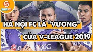 Tin thể thao 24h  - Hà Nội FC sẽ bảo vệ thành công NGÔI VƯƠNG tại V league 2019