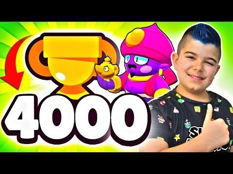 LLEGO A LAS 4000 COPAS CON GENE EN BRAWL STARS!!!