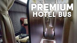 Riding the Overnight Bus Hotel in Japan