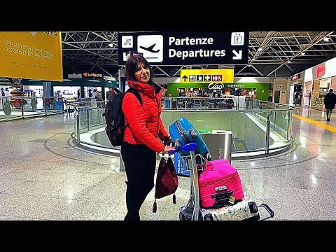 Moja Sestra Ruzica na Aerodromu u Rimu Prelazak Granice i Cekiranje
