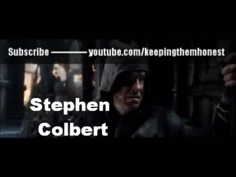 Stephen Colbert Cameo Appearance in The Hobbit: The Desolation of Smaug