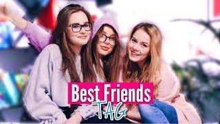 BEST FRIENDS TAG | Bała się mnie poznać?!