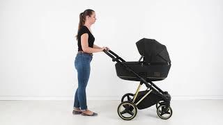 Детская коляска Adamex Cristiano видео обзор