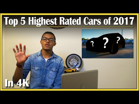 Top 5 Highest Rated New Cars of 2017   DriveAndBeDriven's Top Reviewed Car Picks   In 4K UHD!