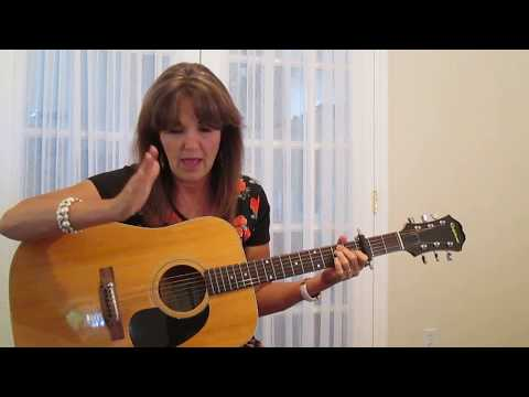 Crazy Patsy Cline Guitar Tutorial