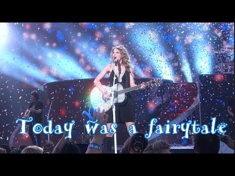Today was a fairytale (uncut) Taylor Swift #Fearless tour