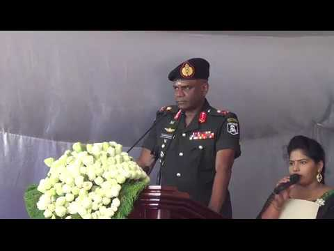 Sri Lankan army commander tells Tamils: as we give to you, we can take back