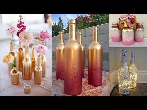 светильники своими руками из шампанских бутылок