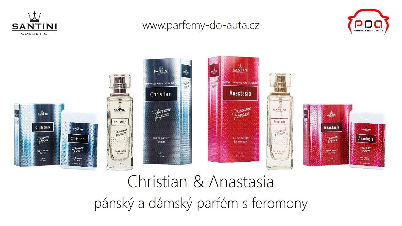 652a022ac9b92 Pánský parfém Christian a dámský parfém Anastasia - SANTINI - YouTube
