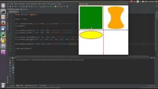 Библиотека Tkinter - 15 - Canvas и геометрические примитивы