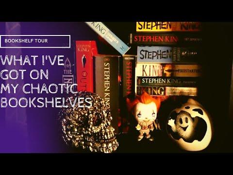 Download MESSY BOOKSHELF TOUR// no organization, googly eyes abound, & too much warhammer [CC]
