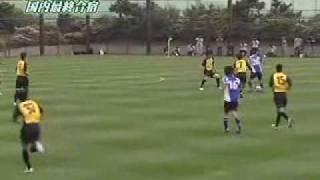 Japan U-20 vs JEF-United Chiba (May 2007)