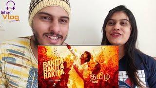 Download lagu Jagame Tantram - Rakita Rakita Rakita Reeeaction  Dhanush   Santhosh Narayanan   Karthik Subbaraj