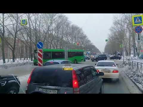 Новосибирск. Жесткое ДТП на Петухова.
