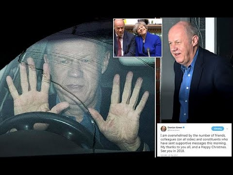 Deputy PM Damian Green resigns over pornography claims