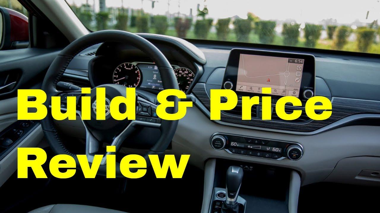 2019 Nissan Altima Platinum Vc Turbo Fwd Sedan Build Price Review Interior Features Colors