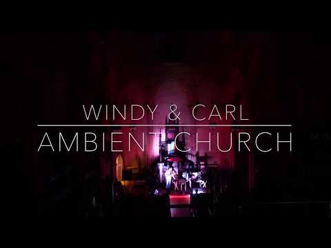 Windy & Carl LIVE at Ambient Church NYC (w/ analog oil visuals)