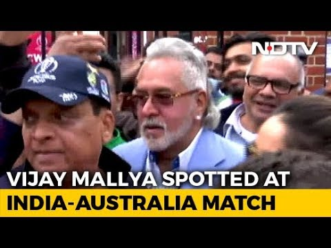 "Vijay Mallya Met With ""Chor Hai"" Cries At India-Australia Cricket Match"