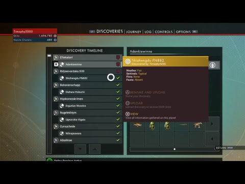 NMS: 21 Jumps to Hilbert Galactic Hub