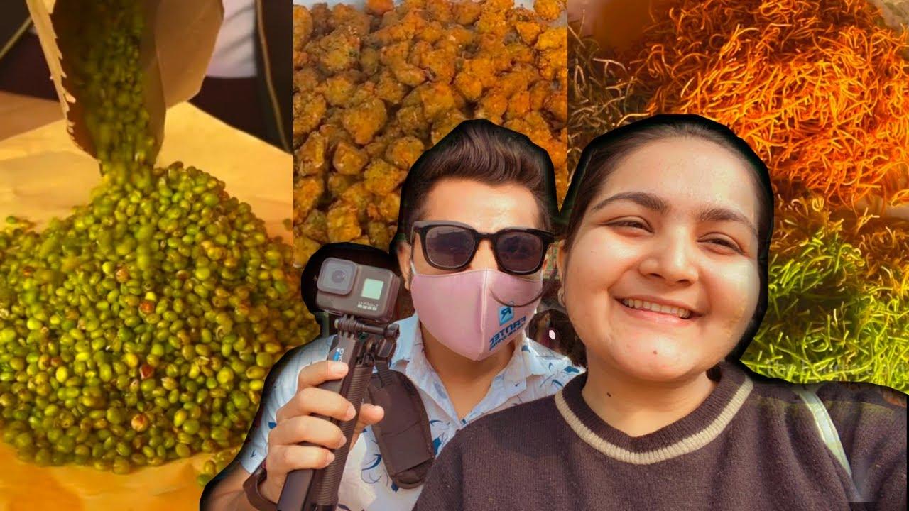 Ponk Nagari Food Tour with Otheri Khaana | Surti Ponk Vada, Petis ,Sev & More  | Street Food Surat