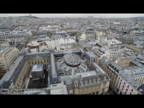 Le site Richelieu vu du ciel – Bibliothèque nationale de France