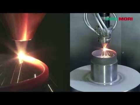 Hybrid machine (3D printer and 5 axis milling-machine)