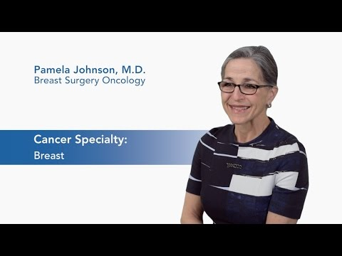 Meet Dr. Pamela Johnson - Breast Surgical Oncology video thumbnail