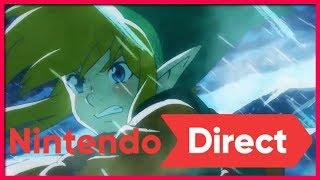 Zelda Link's Awakening Remake and Super Mario Maker 2! - Kinda Funny Nintendo Direct Live Reactions